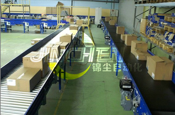 Conveyer for shopping malls